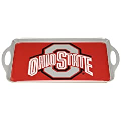 Buy NCAA Ohio State Buckeyes Melamine Serving Tray by BSI