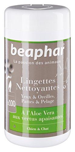 beaphar-lingettes-nettoyantes-pattes-pelage-yeux-et-oreilles-chien-et-chat-100-lingettes
