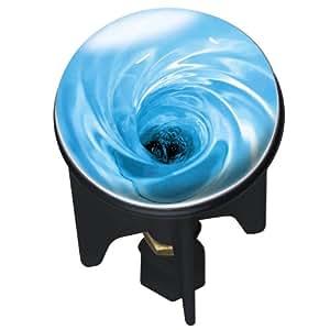 WENKO 20766100 Waschbeckenstöpsel Pluggy® Water - Abfluss-Stopfen, für alle handelsüblichen Abflüsse, Kunststoff, 3.9 x 6.5 x 3.9 cm, Mehrfarbig