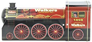 Walkers Shortbread Tin, Steam Engine, 4.4 Ounce