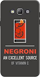DailyObjects Negroni Case For Samsung Galaxy A7