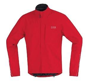 Gore Bike Wear Men's Path Gore-Tex  Jacket (Red, Large)