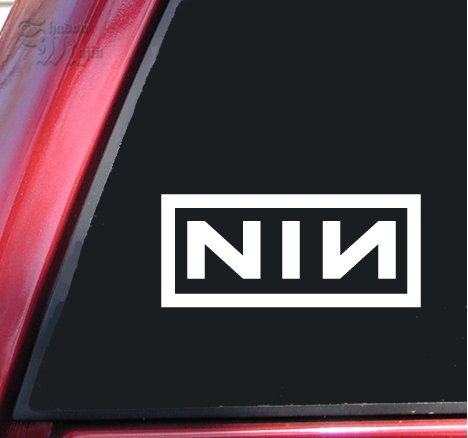 nine inch nails decal