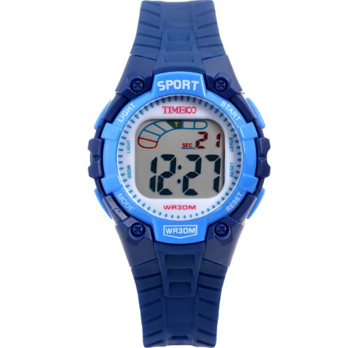 time100 fancy lcd multifunction royal blue