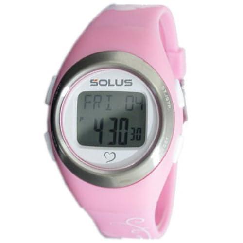 [ソーラス] SOLUS 腕時計 デジタル 心拍計測機能付 トレーニングウォッチ ピンク ユニセックス [国内正規品]