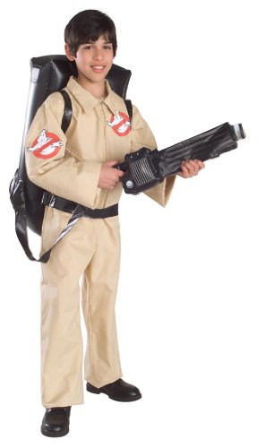 [Ghostbusters Costume - Large] (Ghostbuster Costume Backpack)