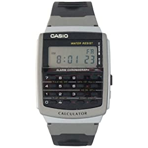 Casio Unisex CA56-1 Databank and Calculator Watch