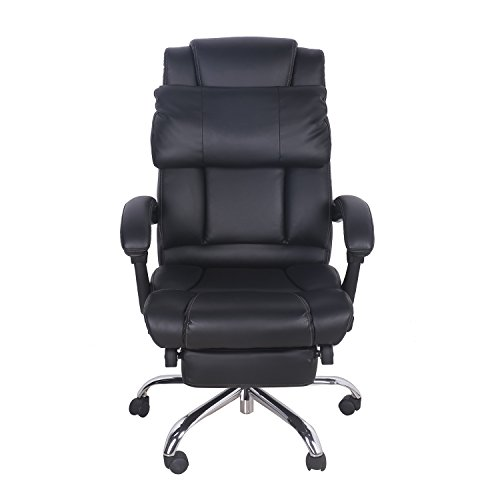 Merax Technical Leather Big Tall Executive Recliner  : 41IcefK9jML Task Chairs <strong>without Arms</strong> from www.2daydeliver.com size 500 x 500 jpeg 18kB