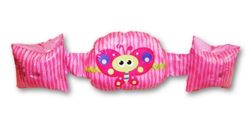 Banzai Character Armbands ~ Ages 3-5 Years (Pink Butterfly) by Banzai