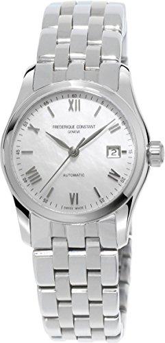 Frederique Constant Geneve Index Automatic FC-303MPWN1B6B Reloj Automático para mujeres Esfera de Nácar
