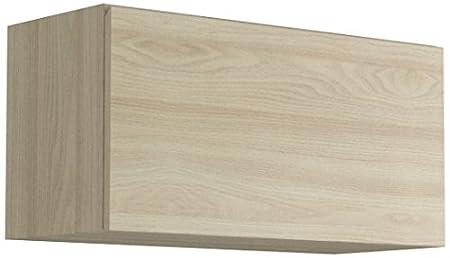 Giessegi 109370OB Elemento Appeso Apertura Vasistas, Legno, Olmo / Bianco, 40 x 80 x 33.6 cm