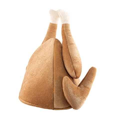 Christmas Turkey 3D Novelty Fancy Dress Hat - 1