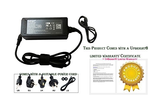 UpBright® NEW Global AC / DC Adapter For Weider PLATINUM SYSTEM Miscellaneous 831.153971 /CROSSBOW BY PLATINUM 831.153972 XP800 831.153979 /PLATINUM PLUS 831.154070 Power Supply Cord Cable PS Charger Input: 100 - 240 VAC 50/60Hz Worldwide Voltage Use Mai