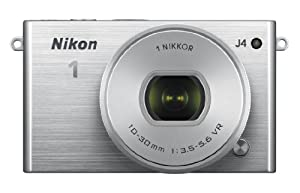 Nikon 1 J4 Digital Camera with 1 NIKKOR 10-30mm f/3.5-5.6 PD Zoom Lens (Silver)
