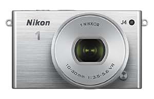 Nikon 1 J4 Digital Camera with 1 NIKKOR 10-30mm f/3.5-5.6 PD Zoom Lens (Silver) (Discontinued by Manufacturer)