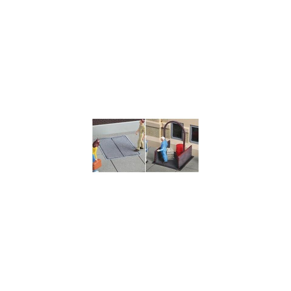 Walthers Cornerstone Series® Sidewalk Elevator Kit (Plastic) Builds
