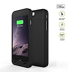 iPhone 6 / 6S battery case, Apple MFi certified MIPOW MACA POWERCASE 3000mAh iPhone 6, iPhone 6S power case / external battery pack / portable charger / protective power case / backup charger