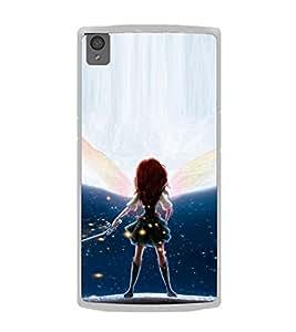 ifasho Designer Phone Back Case Cover OnePlus X :: One Plus X ( Grey Blue Pattern )