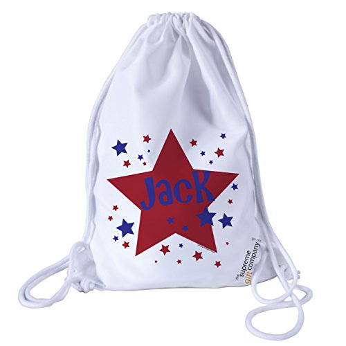 personalised-kids-red-and-blue-stars-theme-drawstring-swimming-school-pe-bag-for-girls-and-boys