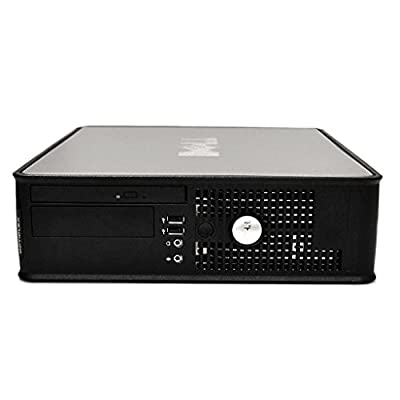 Dell Optiplex 780 SFF Small Form Factor Business Desktop Computer PC (Intel Dual-Core 3.1GHz Processor, 8GB DDR3 RAM, 2TB HDD, DVD, VGA, RJ45, Windows 7 Professional) (Certified Refurbished)