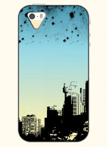 Oofit Phone Case Design With Black And White City For Apple Iphone 4 4S 4G
