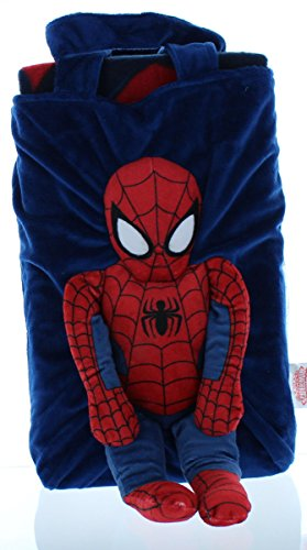Marvel Spiderman Snuggle Pillow Tote Set