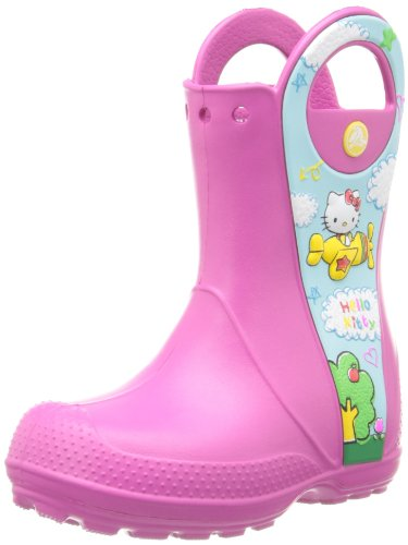 Crocs Handle It Hello Kitty Plane Na Boot (Toddler/Little Kid),Fuchsia,12 M Us Little Kid back-1077408