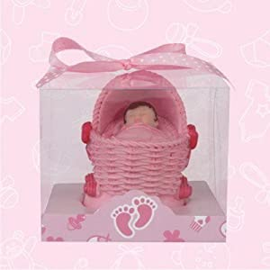 12 baby shower baby girl carriage favor in box favors gift