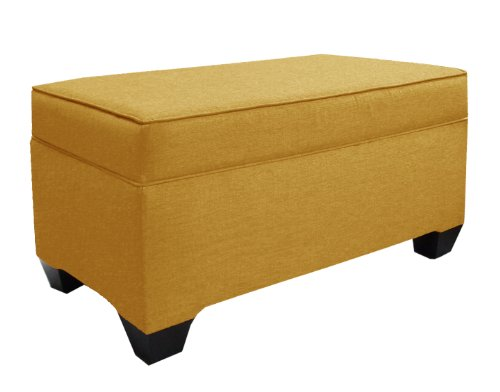 Skyline Furniture Upholstered Storage Bench in Patriot Lemon at Sears.com