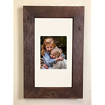14x24 Rustic Coffee Bean Concealed Medicine Cabinet (Extra Large), a Recessed Mirrorless Medicine Cabinet with Frame Door