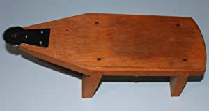 Coconut Grater-Wood