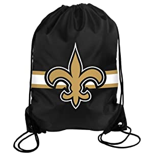 NFL New Orleans Saints Drawstring Backpack