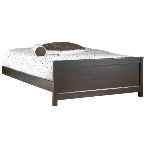 Best Prices! South Shore Furniture, Mountain Lodge Collection, Queen Footboard and Rails 60, Ebony