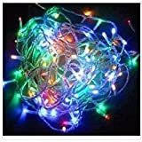100 Led 10m Christmas Wedding Multicolor Multi Mix Color Changing RGB Party Fairy String Lights with 8 Function Controller