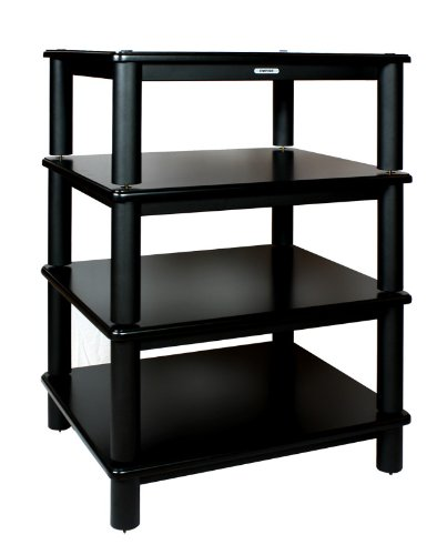empire precision hifi rack mx t4 bs 4999schwarz lackiert. Black Bedroom Furniture Sets. Home Design Ideas