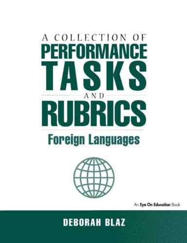 Collections of Performance Tasks & Rubrics: Foreign...