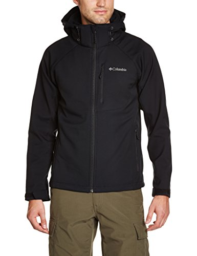 Columbia-Herren-Cascade-Ridge-II-Softshell-Black-L-WM3241