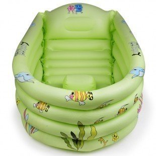 Baby Inflatable Bath Tub front-325533