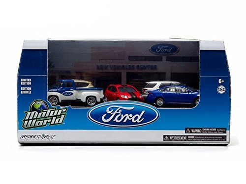 greenlight-1-64-ford-dealership-diorama-2013-escape-fusion-focus-explorer-56-f100-by-greenlight