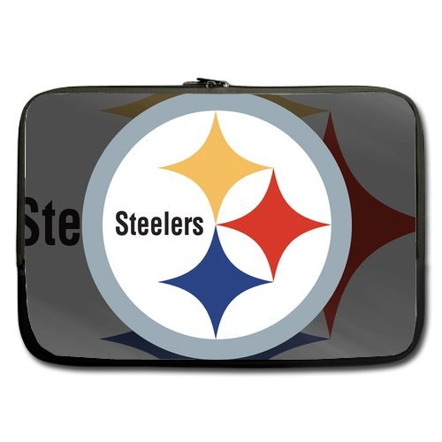 "Unidesign Pittsburgh Steelers 13"" 13.3"" Inch Laptop Sleeve Bag for Apple Macbook pro, air, Dell Inspiron, Vostro, Samsung, ASUS UL30, Toshiba Notebook at Amazon.com"