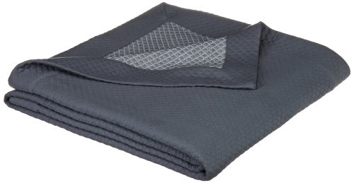 Why Should You Buy Pinzon Diamond Matelasse Full/Queen Coverlet, Slate