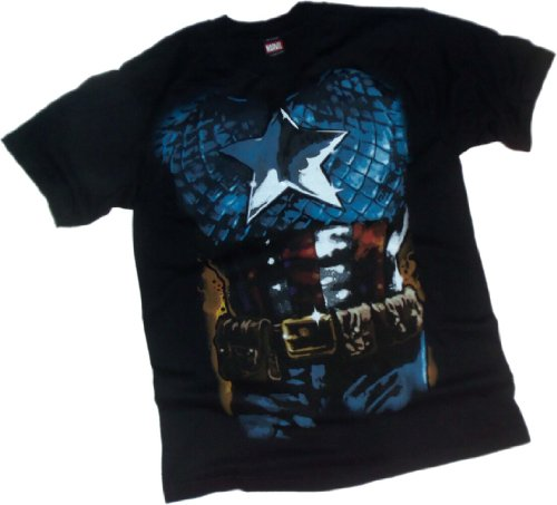 Captain America -- Costume T-Shirt