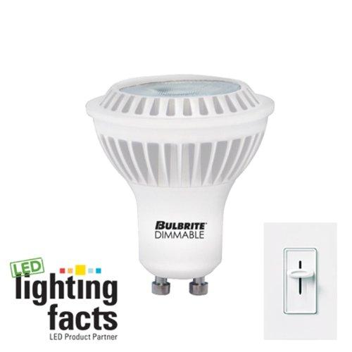 Bulbrite Led6Mr16Gu/Ww/D 6.5-Watt Dimmable Mr16 Led Bulb, Gu10 Base, Soft White