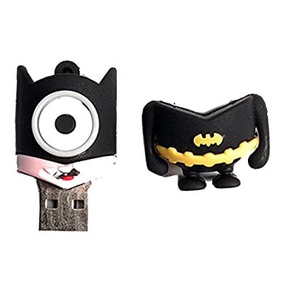 Generic Superhero Minion 8Gb 2.0 Usb Pendrive (Batman)  - Multi Colored
