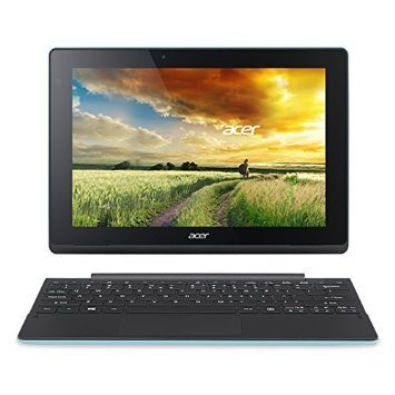 Acer Aspire Switch 10 SW3-013 Detachable 2 in 1 tablet PC Laptop 10.1-inch Touchscreen In-plane Switching (IPS) Technology intel Z3735F Quard-core 1.33GHz (32GB PeacockBlue)