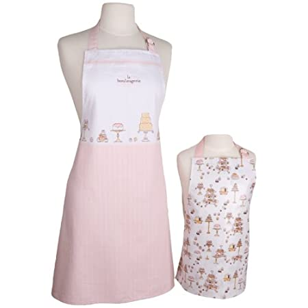 Adult and Kids Apron Set