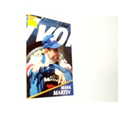 Mark Martin Autographed Series 1 Numbered Prototype TRAKS card by Traks