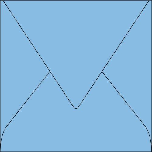 Pollen Paquet de 20 enveloppes Pollen 140x140mm Bleu Lavande 120g