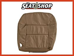 00 01 02 Lincoln Navigator Med Parchment Leather Seat Cover RH bottom