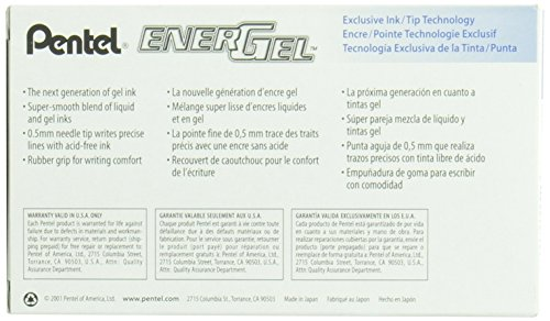PENTEL ENERGEL NEEDLE TIP BLUE BLN25-C